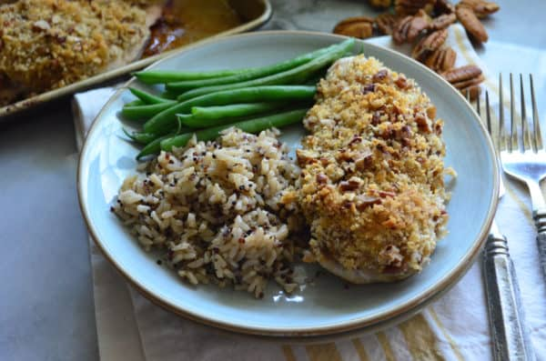 Pecan Chicken Dinner Recipe