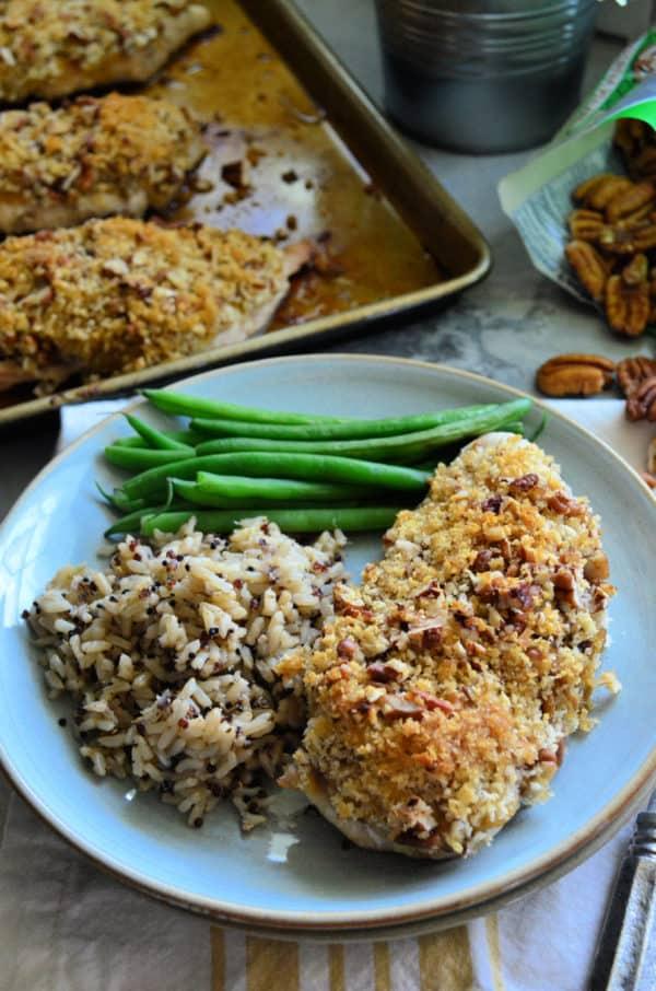 Pecan Chicken Easy Dinner Recipe