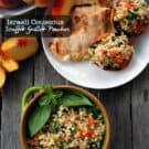 Israeli Couscous Stuffed Peaches