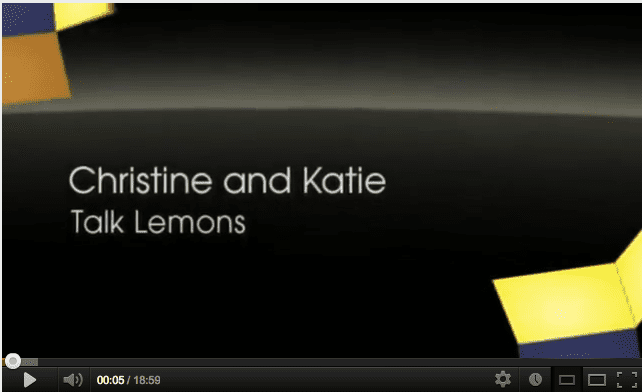 Christine & Katie talk Lemons