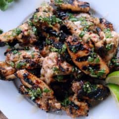 Key West Grilled Chicken Wings