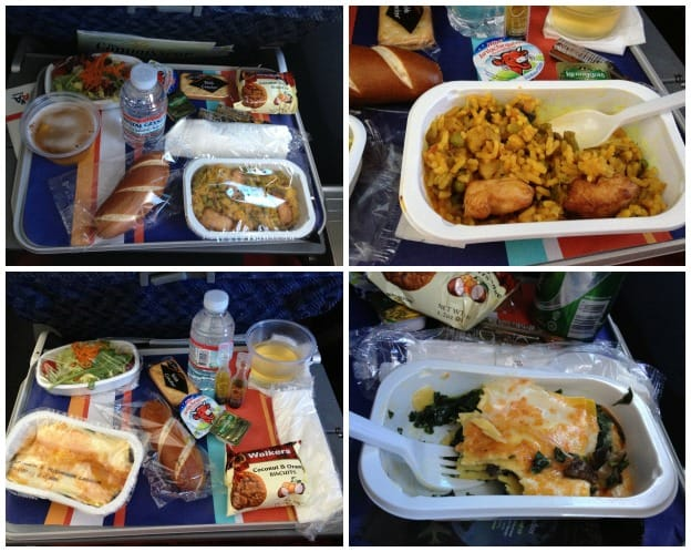 Airplane Lunch