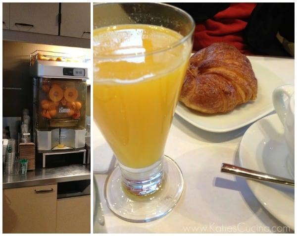 orange juice in spain