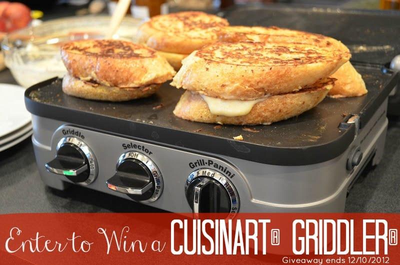 Enter to Win a Cuisinart Griddler