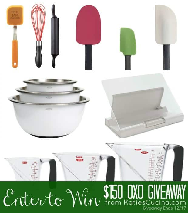 OXO The Baking Boss Set Giveaway