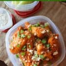 Baked Buffalo Queso Fresco Wings #superbowl #entertaining #appetizer #recipe