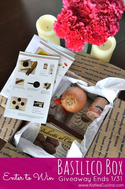 {Product Review & Giveaway} Basilico Box