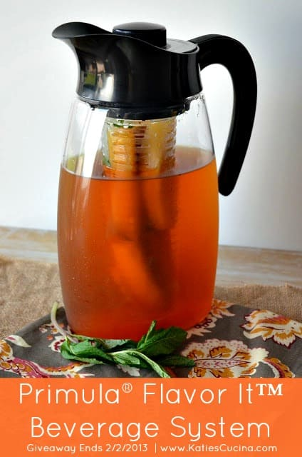 Enter to Win: Primula® Flavor It™ Beverage System #giveaway @KatiesCucina