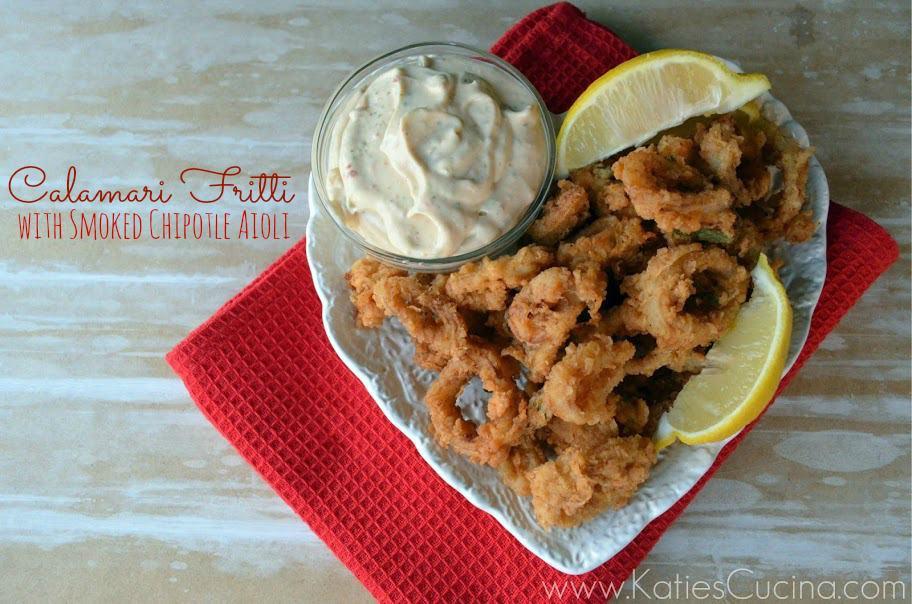 Calamari Fritti with Smoked Chipotle Aioli