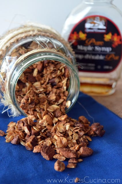 Cinnamon-Maple Granola
