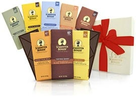 SCHARFFEN BERGER® Chocolate Bar Sampler Gift Box #fondueweek #Giveaway
