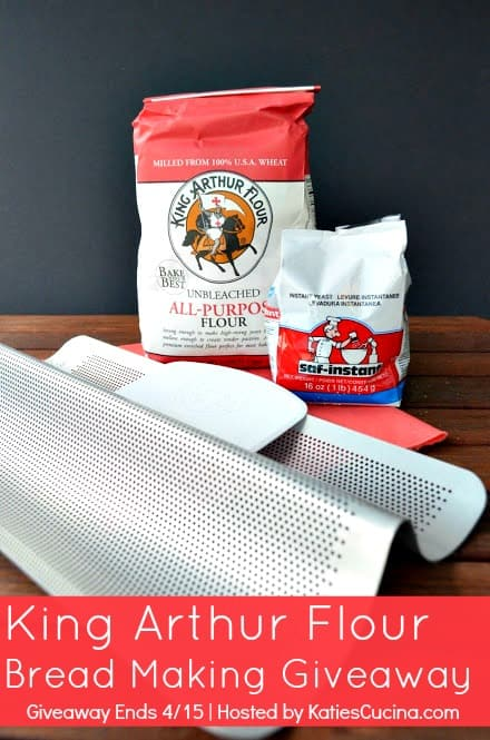 King Arthur Flour Bread Making Giveaway from KatiesCucina.com