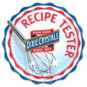 Recipe Tester for Dixie Crystals Sugar