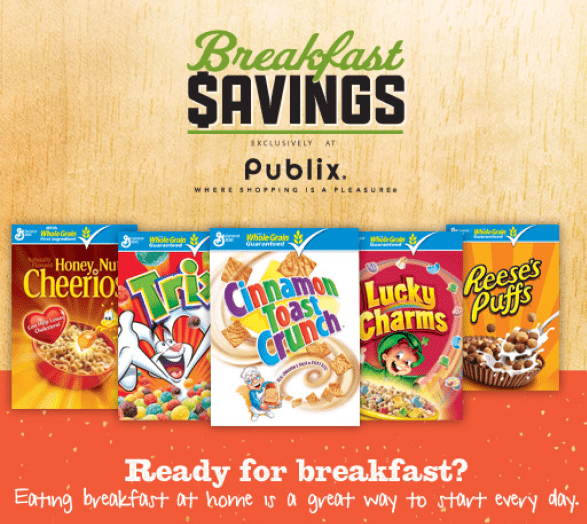 Breakfast Savings Exclusively at Publix