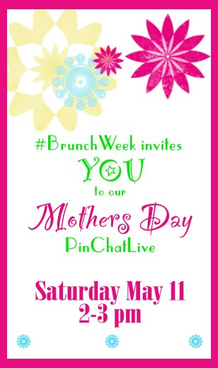 Pin Chat Live! Brunch Week Chat via KatiesCucina.com