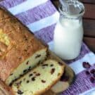 Cherry Almond Pound Cake via KatiesCucina.com