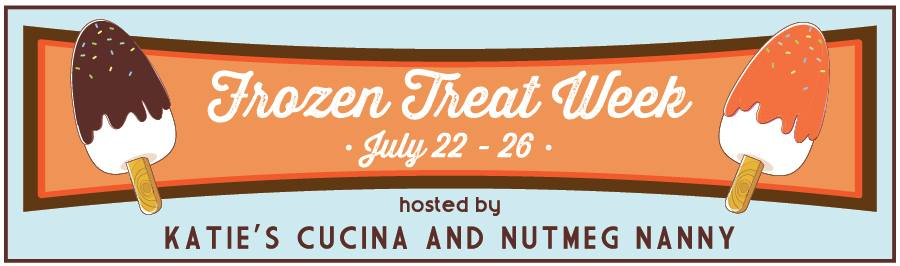 Frozen Treat Week | July 22 -28 | from KatiesCucina.com