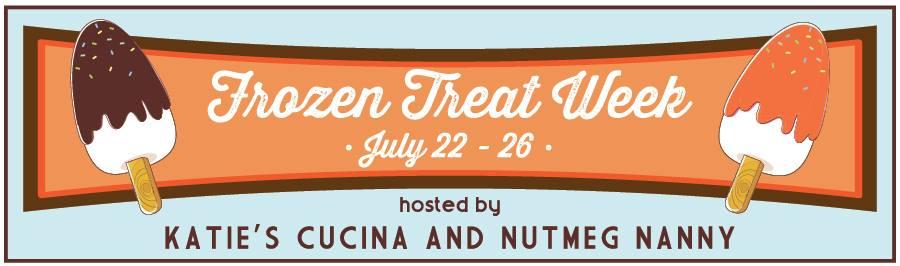 Frozen Treat Week | July 22 -28 | from KatiesCucina.com