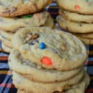 Candy Bar Cookies from KatiesCucina.com