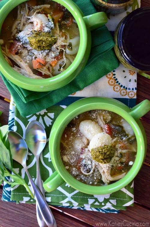 Italian Chicken Gnocchi Soup 2