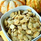Italian Seasoned Roasted Pumpkin Seeds