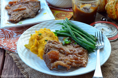 Apple Butter Pork Chops