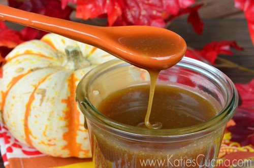 Salted Maple Caramel Sauce