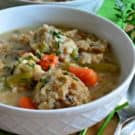 Turkey & Stuffing Dumpling Soup 1