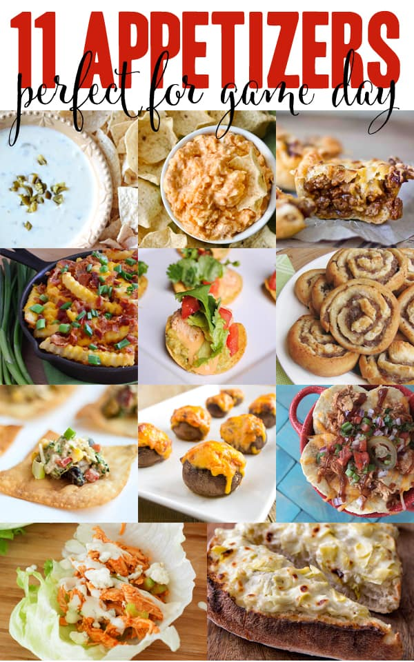 11 BIG GAME Appetizers you won't be able to resist!