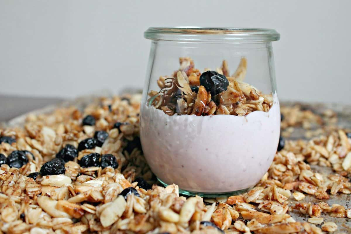 granola grain free granola and fruit salad a parfait combination ...