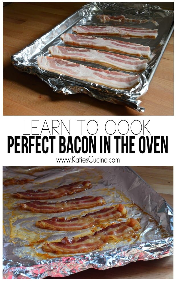 Learn to Cook Perfect Bacon in the Oven from KatiesCucina.com
