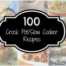 100 Crock Pot /Slow Cooker Recipes