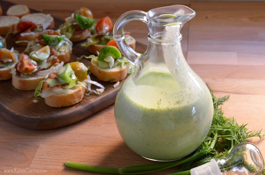 Dill Buttermilk Salad Dressing