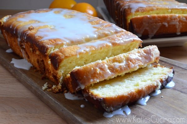 Meyer Lemon Buttermilk Pound Cake