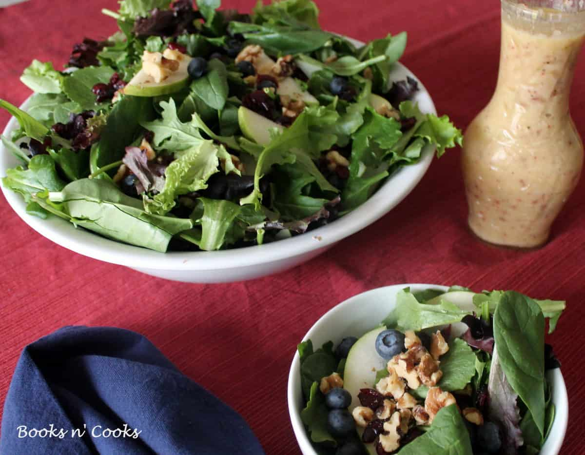 Salad with Pear Vinaigrette