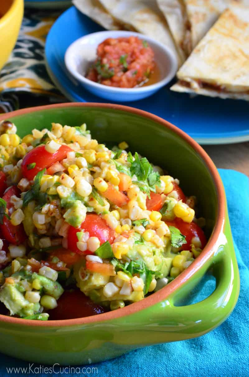 avocado dressing tomato tomatillo and corn salad with avocado dressing ...