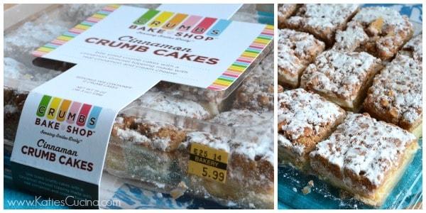 Crumbs Bake Shop Cinnamon Crumb Cakes
