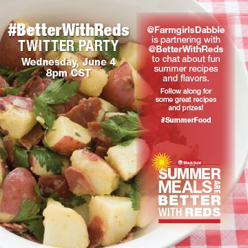 Better with Reds Twitter Party
