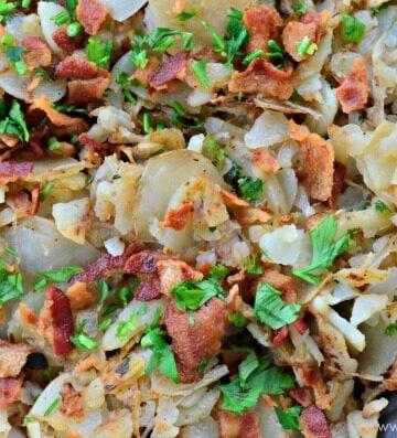 Bacon and Onion Breakfast Potatoes