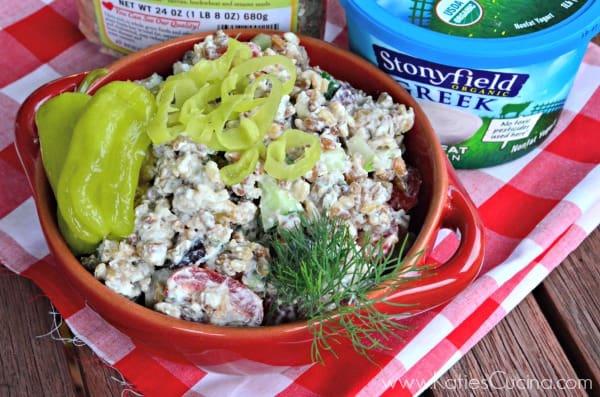 Creamy Greek Pilaf Salad