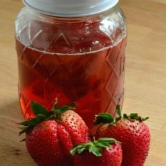 Strawberry Simple Syrup