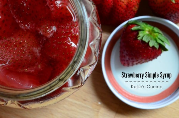 3 Ingredient EASY -- Strawberry Simple Syrup