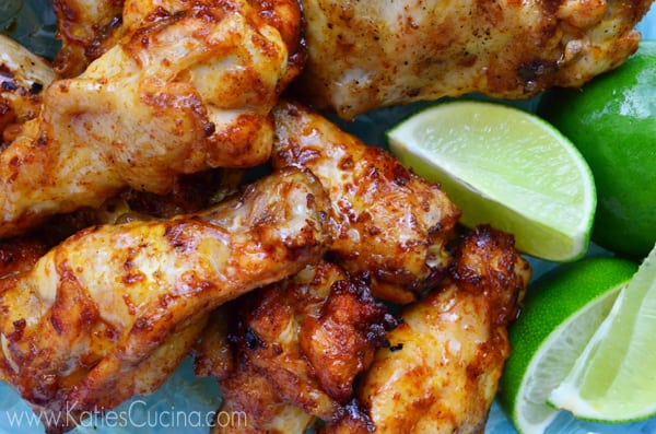 Thai Style BBQ Hot & Tangy Sriracha Grilled Wings