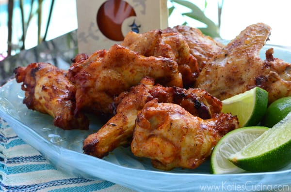Thai Style BBQ Grilled Wings