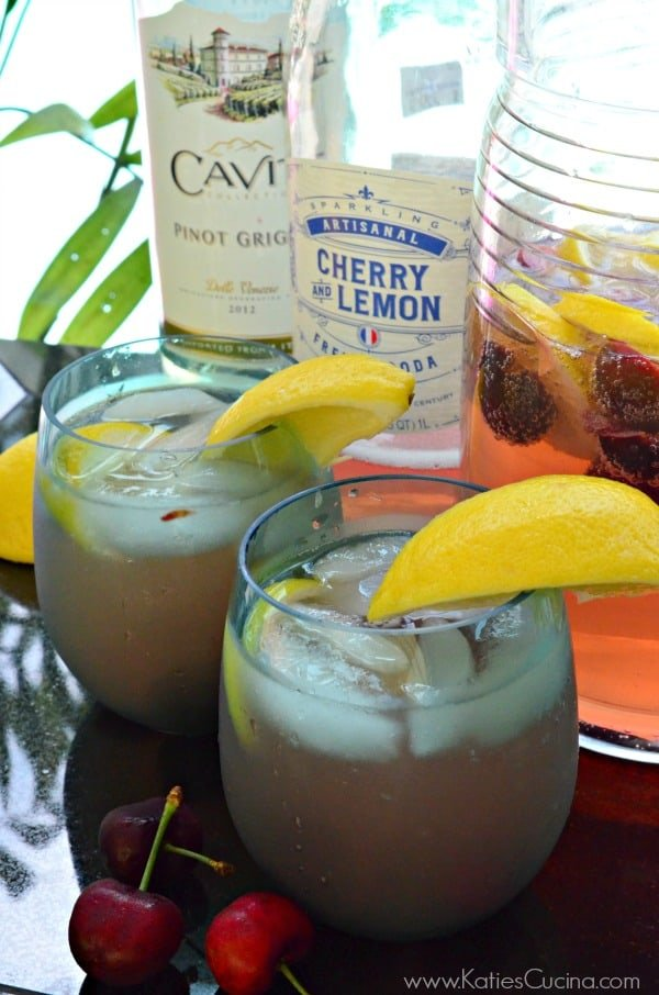 Cherry Lemon Sangria