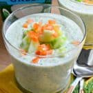 Chilled Cucumber and Dill Greek Yogurt Soup