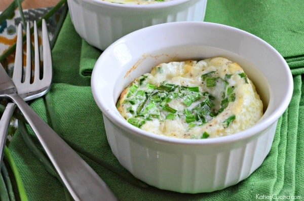 Egg White & Chive Soufflé