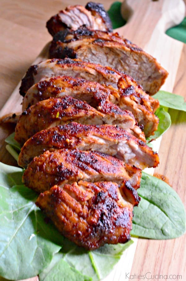 Learn how to make this irresistible rub and make my recipe for Grilled Brown Sugar Chili Pork Tenderloin.