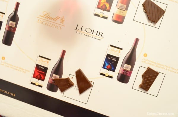Lindt EXCELLENCE Chili paired with J. Lohr Estates South Ridge Syrah