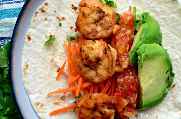 Blackened Shrimp Tacos #TacoWeek